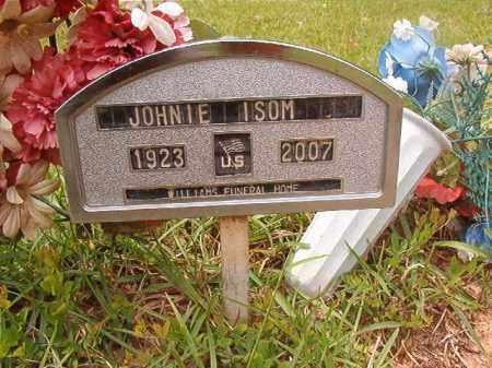 ISOM, JOHNIE - Columbia County, Arkansas | JOHNIE ISOM - Arkansas Gravestone Photos