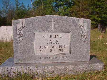 JACK, STERLING - Columbia County, Arkansas   STERLING JACK - Arkansas Gravestone Photos