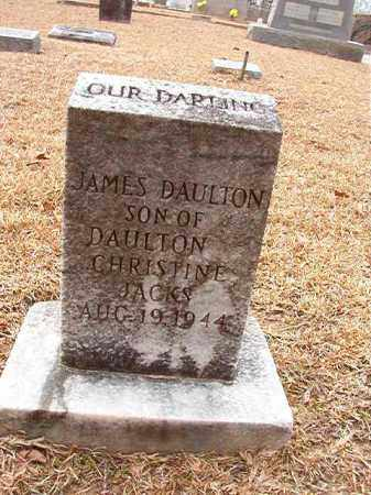 JACKS, JAMES DAULTON - Columbia County, Arkansas | JAMES DAULTON JACKS - Arkansas Gravestone Photos