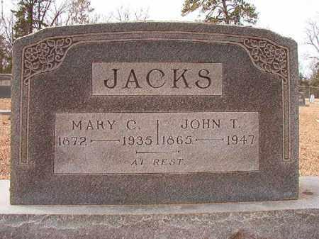 JACKS, MARY C - Columbia County, Arkansas | MARY C JACKS - Arkansas Gravestone Photos