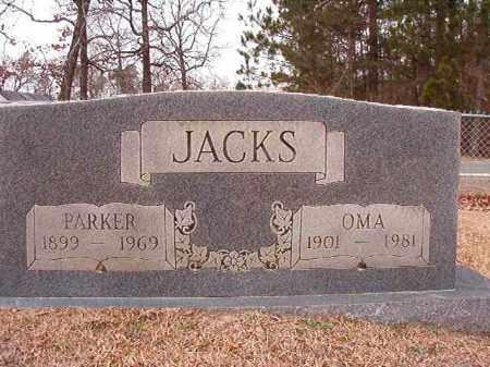 JACKS, OMA - Columbia County, Arkansas | OMA JACKS - Arkansas Gravestone Photos