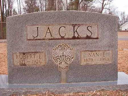 JACKS, NAN E - Columbia County, Arkansas   NAN E JACKS - Arkansas Gravestone Photos