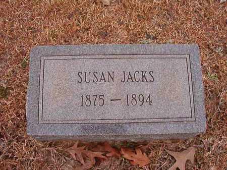 JACKS, SUSAN - Columbia County, Arkansas | SUSAN JACKS - Arkansas Gravestone Photos