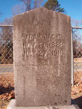 JACKS, SARAH - Columbia County, Arkansas | SARAH JACKS - Arkansas Gravestone Photos