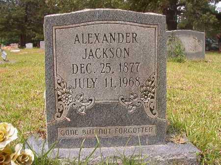 JACKSON, ALEXANDER - Columbia County, Arkansas | ALEXANDER JACKSON - Arkansas Gravestone Photos