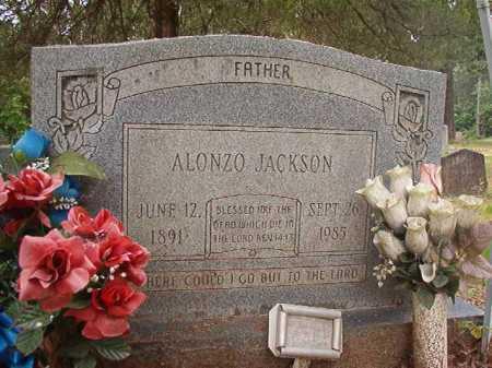 JACKSON, ALONZO - Columbia County, Arkansas | ALONZO JACKSON - Arkansas Gravestone Photos