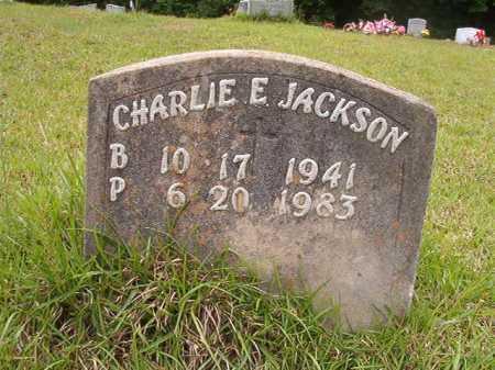 JACKSON, CHARLIE E - Columbia County, Arkansas | CHARLIE E JACKSON - Arkansas Gravestone Photos