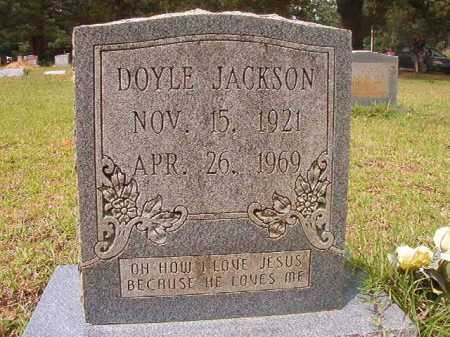JACKSON, DOYLE - Columbia County, Arkansas | DOYLE JACKSON - Arkansas Gravestone Photos