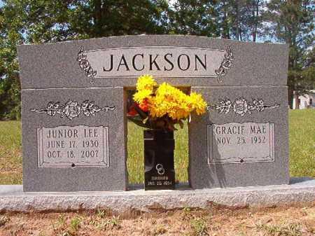 JACKSON, JUNIOR LEE - Columbia County, Arkansas   JUNIOR LEE JACKSON - Arkansas Gravestone Photos