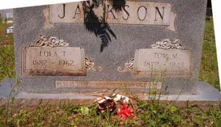 JACKSON, LOLA T - Columbia County, Arkansas | LOLA T JACKSON - Arkansas Gravestone Photos