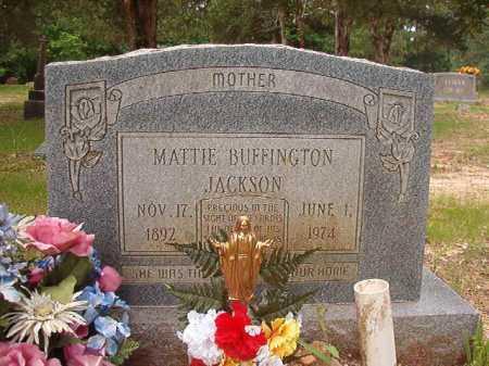 JACKSON, MATTIE - Columbia County, Arkansas | MATTIE JACKSON - Arkansas Gravestone Photos