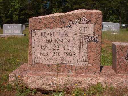 JACKSON, PEARL LEE - Columbia County, Arkansas | PEARL LEE JACKSON - Arkansas Gravestone Photos