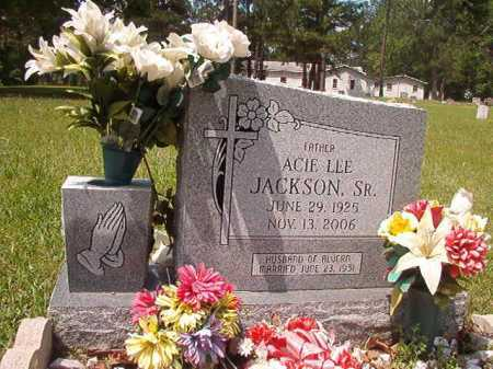 JACKSON, SR, ACIE LEE - Columbia County, Arkansas | ACIE LEE JACKSON, SR - Arkansas Gravestone Photos