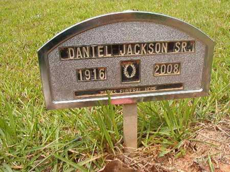 JACKSON, SR, DANIEL - Columbia County, Arkansas | DANIEL JACKSON, SR - Arkansas Gravestone Photos