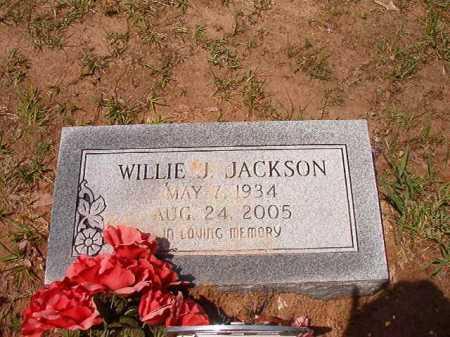 JACKSON, WILLIE J - Columbia County, Arkansas | WILLIE J JACKSON - Arkansas Gravestone Photos