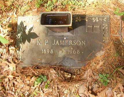 JAMERSON, K P - Columbia County, Arkansas   K P JAMERSON - Arkansas Gravestone Photos