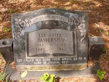 JAMERSON, LEE ESTER - Columbia County, Arkansas   LEE ESTER JAMERSON - Arkansas Gravestone Photos