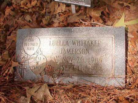 WHITAKER JAMERSON, LUELLA - Columbia County, Arkansas | LUELLA WHITAKER JAMERSON - Arkansas Gravestone Photos