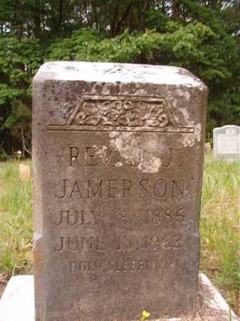 JAMERSON, REV, J J - Columbia County, Arkansas | J J JAMERSON, REV - Arkansas Gravestone Photos
