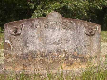 JAMERSON, SARAH - Columbia County, Arkansas | SARAH JAMERSON - Arkansas Gravestone Photos
