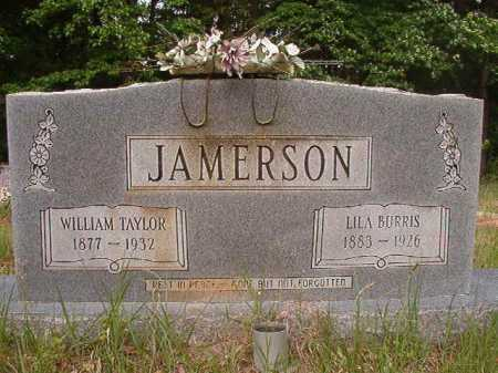 BURRIS JAMERSON, LILA - Columbia County, Arkansas | LILA BURRIS JAMERSON - Arkansas Gravestone Photos