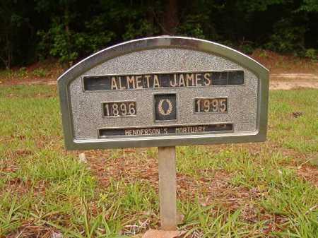 JAMES, ALMETA - Columbia County, Arkansas | ALMETA JAMES - Arkansas Gravestone Photos