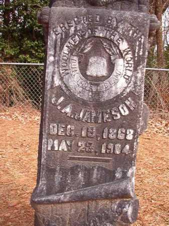 JAMESON, J A - Columbia County, Arkansas   J A JAMESON - Arkansas Gravestone Photos