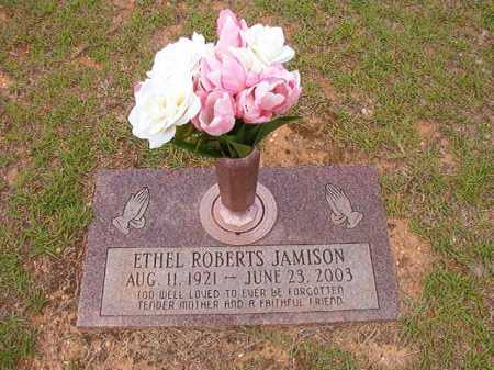 ROBERTS JAMISON, ETHEL - Columbia County, Arkansas | ETHEL ROBERTS JAMISON - Arkansas Gravestone Photos