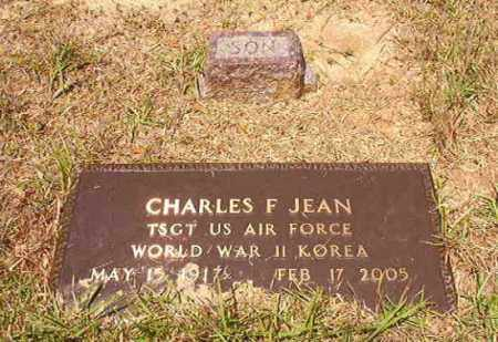 JEAN (VETERAN 2 WARS), CHARLES F - Columbia County, Arkansas | CHARLES F JEAN (VETERAN 2 WARS) - Arkansas Gravestone Photos