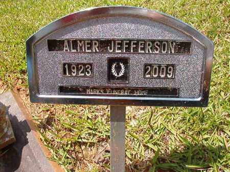 JEFFERSON, ALMER - Columbia County, Arkansas   ALMER JEFFERSON - Arkansas Gravestone Photos