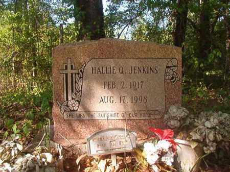 JENKINS, HALLIE Q - Columbia County, Arkansas   HALLIE Q JENKINS - Arkansas Gravestone Photos