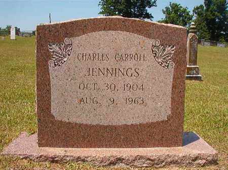 JENNINGS, CHARLES CARROLL - Columbia County, Arkansas   CHARLES CARROLL JENNINGS - Arkansas Gravestone Photos