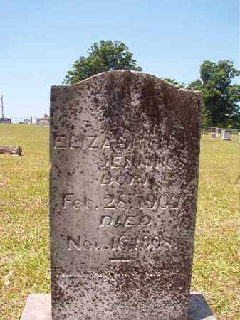 JENNINGS, ELIZABETH - Columbia County, Arkansas | ELIZABETH JENNINGS - Arkansas Gravestone Photos