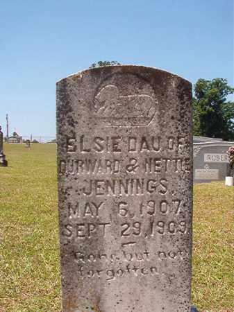 JENNINGS, ELSIE - Columbia County, Arkansas   ELSIE JENNINGS - Arkansas Gravestone Photos