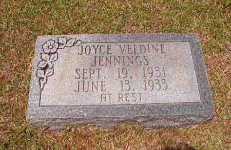 JENNINGS, JOYCE VELDINE - Columbia County, Arkansas   JOYCE VELDINE JENNINGS - Arkansas Gravestone Photos