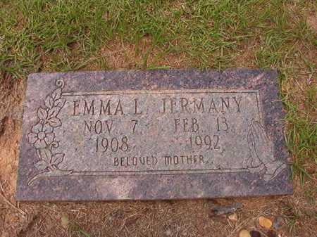 JERMANY, EMMA L - Columbia County, Arkansas | EMMA L JERMANY - Arkansas Gravestone Photos