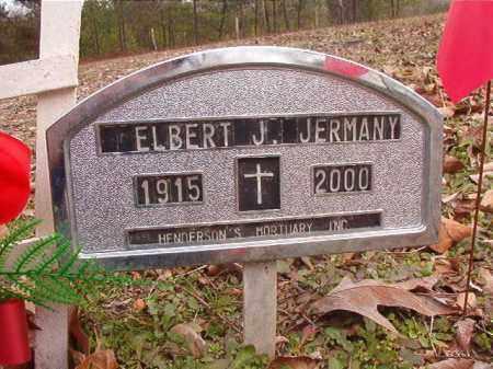 JERMANY, ELBERT J - Columbia County, Arkansas   ELBERT J JERMANY - Arkansas Gravestone Photos