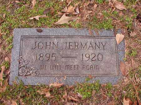 JERMANY, JOHN - Columbia County, Arkansas   JOHN JERMANY - Arkansas Gravestone Photos
