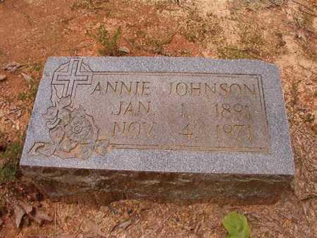 JOHNSON, ANNIE - Columbia County, Arkansas | ANNIE JOHNSON - Arkansas Gravestone Photos