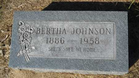 JOHNSON, BERTHA - Columbia County, Arkansas | BERTHA JOHNSON - Arkansas Gravestone Photos