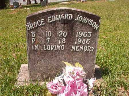 JOHNSON, BRUCE EDWARD - Columbia County, Arkansas | BRUCE EDWARD JOHNSON - Arkansas Gravestone Photos