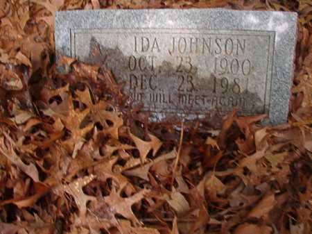 JOHNSON, IDA - Columbia County, Arkansas | IDA JOHNSON - Arkansas Gravestone Photos