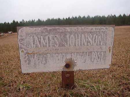 JOHNSON, JAMES - Columbia County, Arkansas | JAMES JOHNSON - Arkansas Gravestone Photos