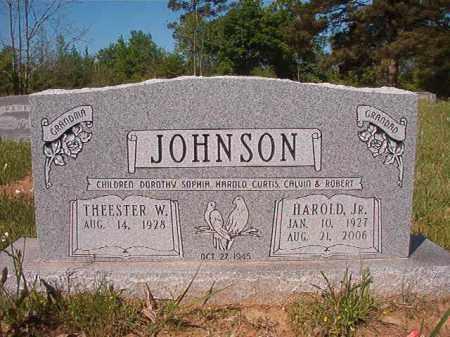JOHNSON, JR, HAROLD - Columbia County, Arkansas | HAROLD JOHNSON, JR - Arkansas Gravestone Photos
