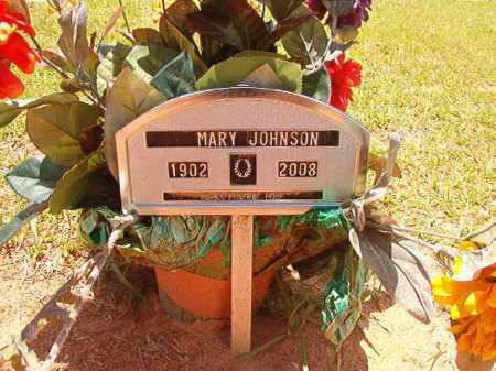 JOHNSON, MARY - Columbia County, Arkansas | MARY JOHNSON - Arkansas Gravestone Photos