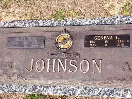 JOHNSON, OLEN L - Columbia County, Arkansas | OLEN L JOHNSON - Arkansas Gravestone Photos