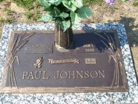 JOHNSON, PAUL - Columbia County, Arkansas | PAUL JOHNSON - Arkansas Gravestone Photos