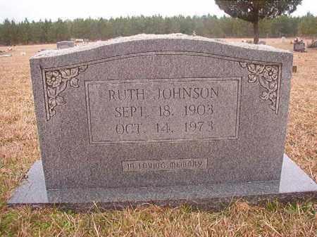 JOHNSON, RUTH - Columbia County, Arkansas | RUTH JOHNSON - Arkansas Gravestone Photos