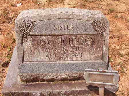JOHNSON, RUBY - Columbia County, Arkansas   RUBY JOHNSON - Arkansas Gravestone Photos