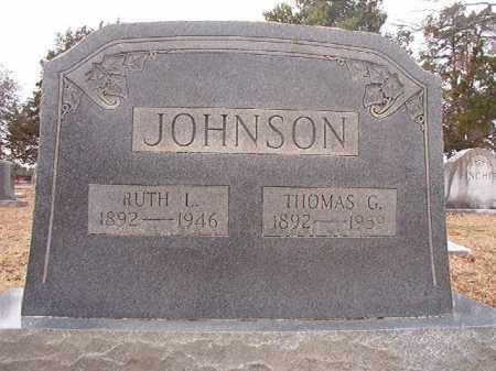 JOHNSON, RUTH L - Columbia County, Arkansas | RUTH L JOHNSON - Arkansas Gravestone Photos